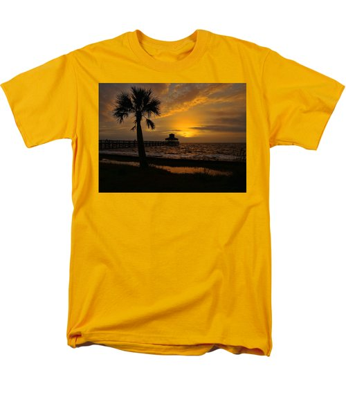 Island Sunrise Men's T-Shirt  (Regular Fit) by Judy Vincent