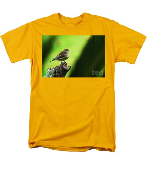 Men's T-Shirt  (Regular Fit) featuring the photograph January Migration by Debby Pueschel