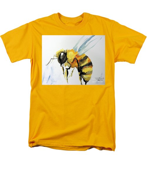 Men's T-Shirt  (Regular Fit) featuring the painting Just Beecause by Tom Riggs