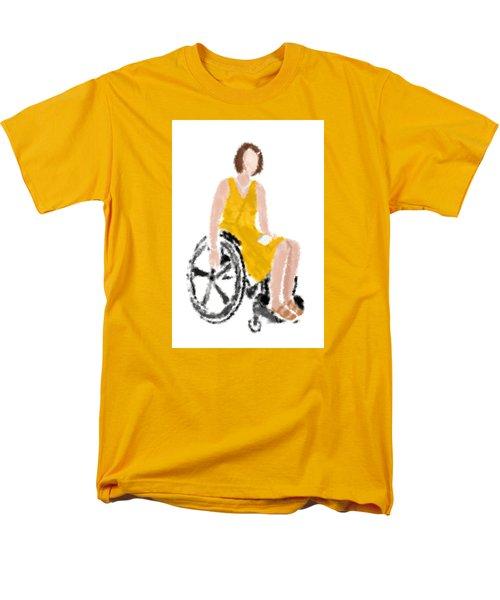 Men's T-Shirt  (Regular Fit) featuring the digital art Kelly by Nancy Levan