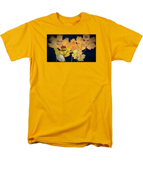 Leaf Family Men's T-Shirt  (Regular Fit) by Jana E Provenzano