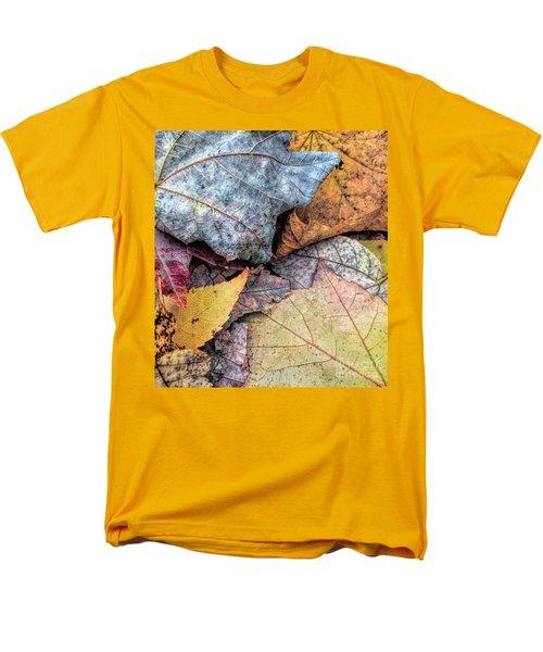 Leaf Pile Up Men's T-Shirt  (Regular Fit) by Todd Breitling