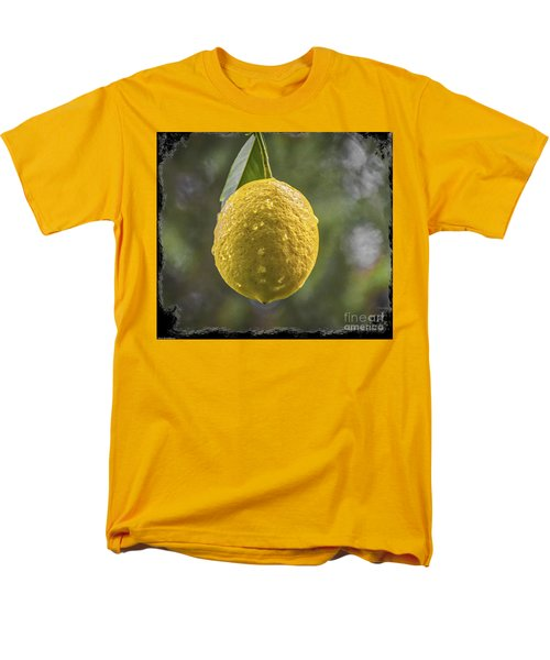 Men's T-Shirt  (Regular Fit) featuring the photograph Lemon Fresh by Mitch Shindelbower