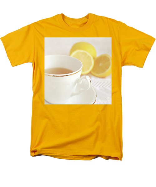 Men's T-Shirt  (Regular Fit) featuring the photograph Lemon Tea by Lyn Randle