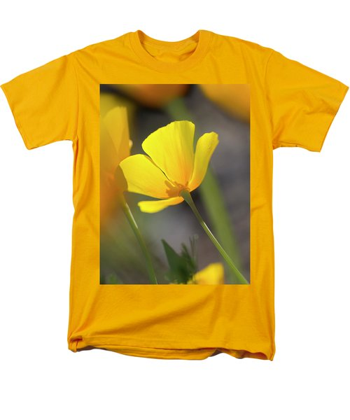 Lemon Yellow Men's T-Shirt  (Regular Fit) by Sue Cullumber