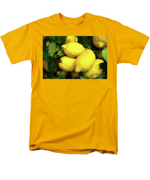 Life Gives You Lemons Men's T-Shirt  (Regular Fit) by Sandy Molinaro