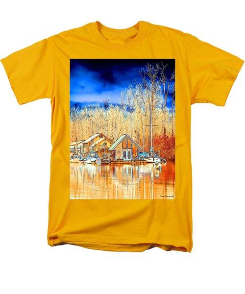 Life On The River Men's T-Shirt  (Regular Fit) by Steve Warnstaff