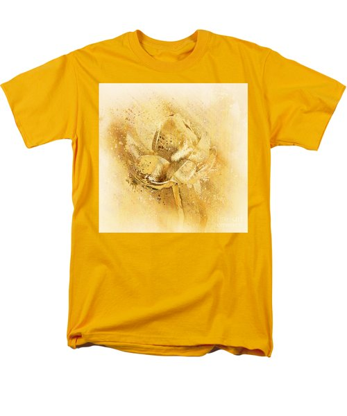 Men's T-Shirt  (Regular Fit) featuring the digital art Lily My Lovely - S114sqc75v2 by Variance Collections