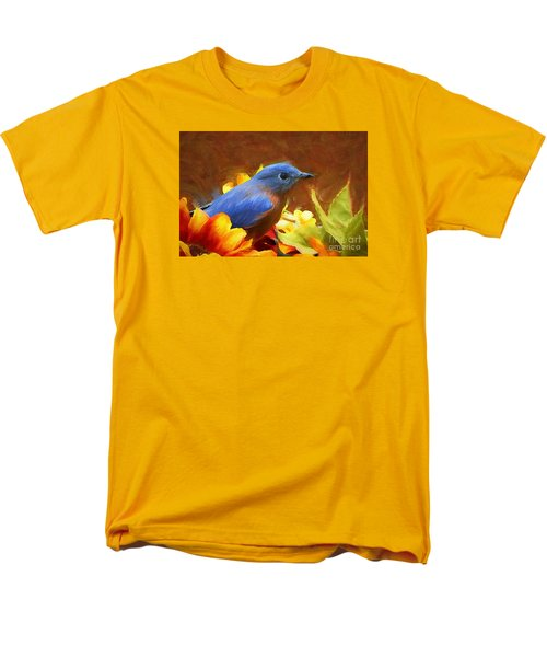 Little Boy Blue Men's T-Shirt  (Regular Fit) by Tina  LeCour