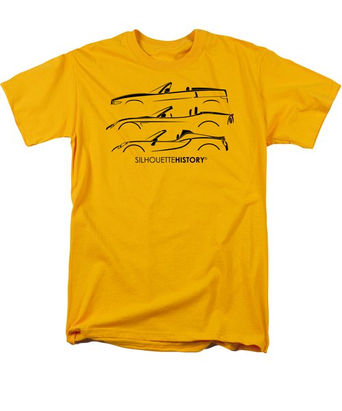 Lombard Roadster Silhouettehistory Men's T-Shirt  (Regular Fit) by Gabor Vida