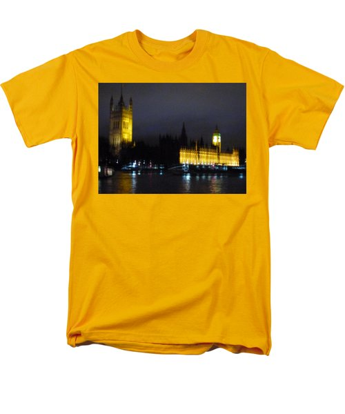 Men's T-Shirt  (Regular Fit) featuring the photograph London Late Night by Christin Brodie
