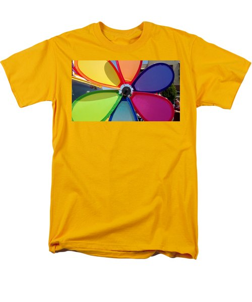 Love Wins Men's T-Shirt  (Regular Fit) by Claudia Goodell