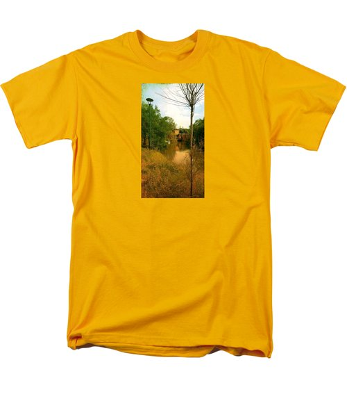 Men's T-Shirt  (Regular Fit) featuring the photograph Malamocco Canal No2 by Anne Kotan