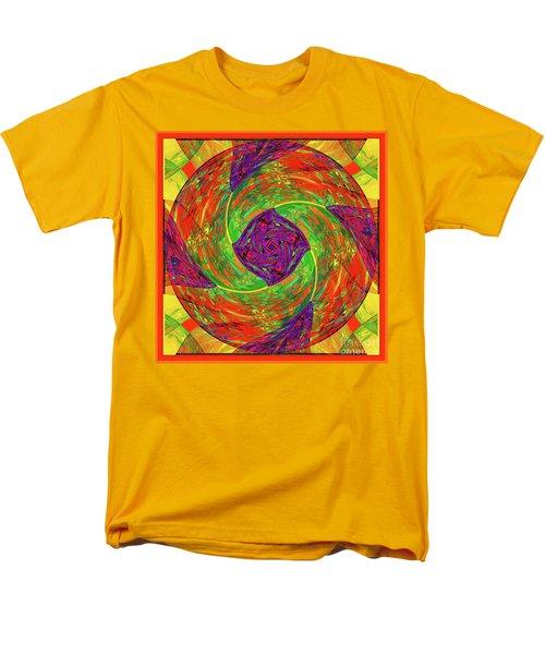 Men's T-Shirt  (Regular Fit) featuring the digital art Mandala #55 by Loko Suederdiek