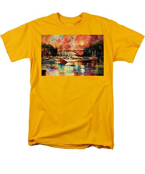 Marina Men's T-Shirt  (Regular Fit) by Al Brown