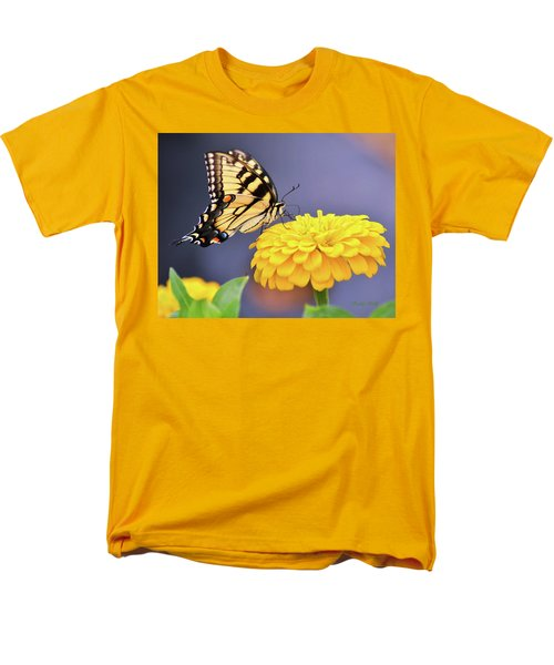 Mellow Yellow Men's T-Shirt  (Regular Fit) by Kathy Kelly