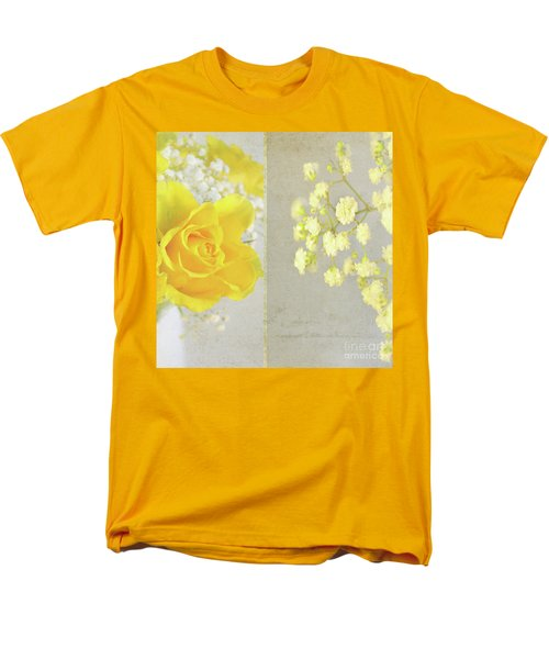 Men's T-Shirt  (Regular Fit) featuring the photograph Mellow Yellow by Lyn Randle
