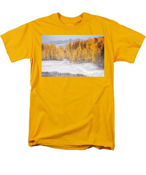 Merging Seasons Men's T-Shirt  (Regular Fit) by Kristal Kraft