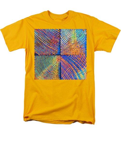 Rainbow Powerwood Men's T-Shirt  (Regular Fit) by John King