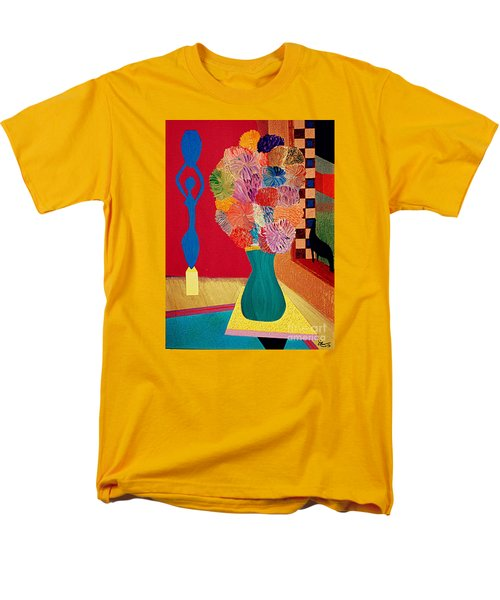 Men's T-Shirt  (Regular Fit) featuring the painting Missing Henri by Bill OConnor