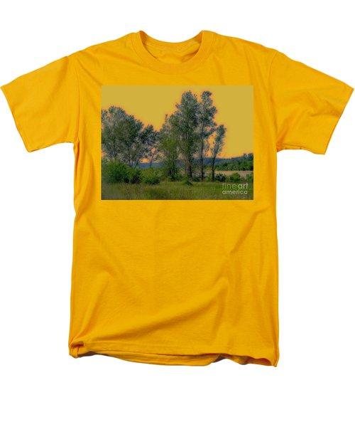 Mississippi Estuary Men's T-Shirt  (Regular Fit) by Nancy Kane Chapman