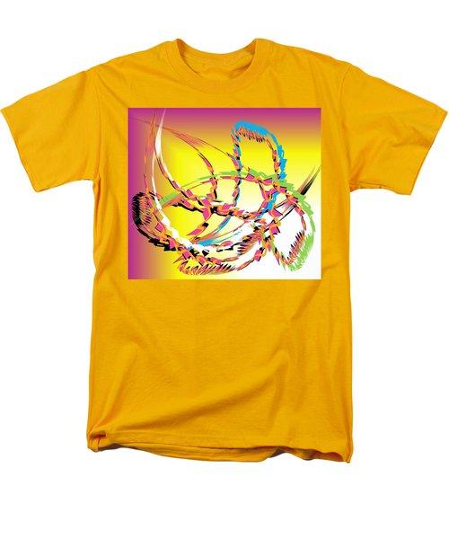 Molecular Energy Men's T-Shirt  (Regular Fit) by Belinda Threeths