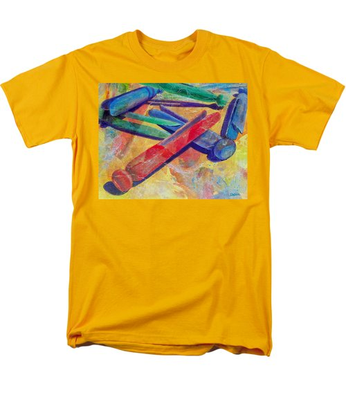 Men's T-Shirt  (Regular Fit) featuring the painting Mom's Wash Day by Susan DeLain