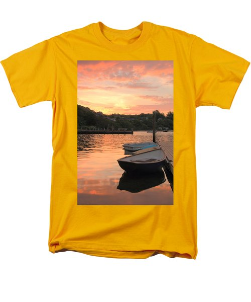 Men's T-Shirt  (Regular Fit) featuring the photograph Morning Calm by Roupen  Baker