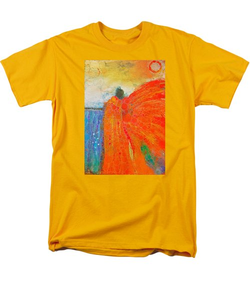 Mprints - Angel Of The Morning Men's T-Shirt  (Regular Fit) by M Stuart