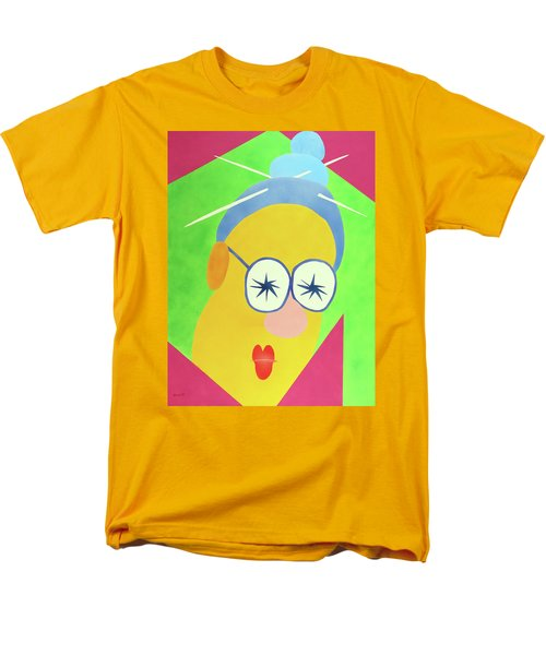 Men's T-Shirt  (Regular Fit) featuring the painting Mrs. Strangefellow by Thomas Blood