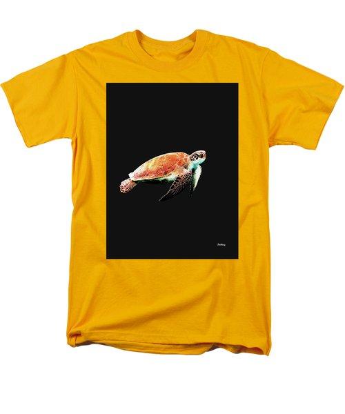 Men's T-Shirt  (Regular Fit) featuring the digital art Music Notes 31 by David Bridburg