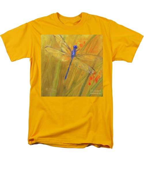 Mystic Dragonfly Men's T-Shirt  (Regular Fit) by Mary Hubley