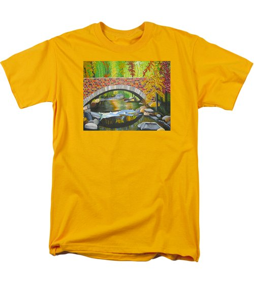 Natures Eye Men's T-Shirt  (Regular Fit) by Donna Blossom