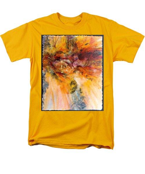 Naturescape In Red Men's T-Shirt  (Regular Fit)