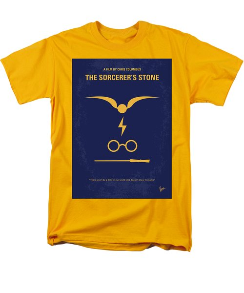 No101 My Harry Potter Minimal Movie Poster Men's T-Shirt  (Regular Fit) by Chungkong Art