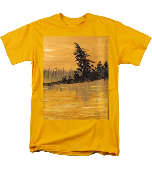 Men's T-Shirt  (Regular Fit) featuring the painting Northern Ontario Three by Ian  MacDonald