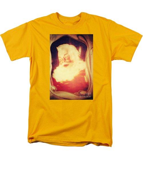 Old Fashioned Santa Men's T-Shirt  (Regular Fit) by Janie Johnson