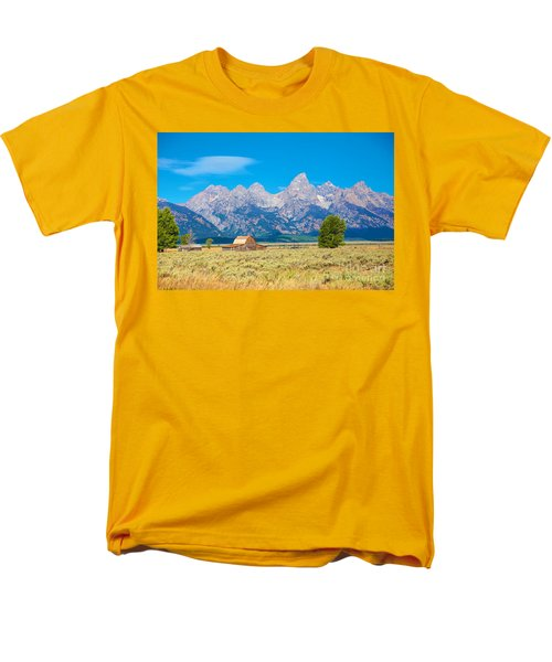 Men's T-Shirt  (Regular Fit) featuring the photograph Old Time Community by Robert Pearson