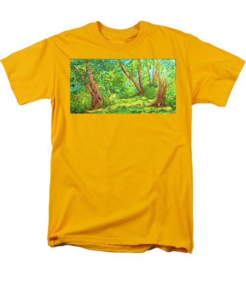 On The Path Men's T-Shirt  (Regular Fit) by Susan D Moody
