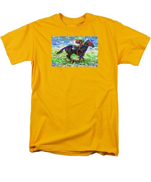 One Body Length Ahead Men's T-Shirt  (Regular Fit)