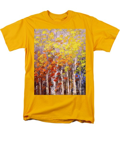 Operation October Men's T-Shirt  (Regular Fit) by Tatiana Iliina