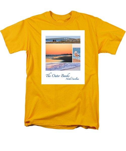 Outer Banks North Carolina Men's T-Shirt  (Regular Fit) by Joni Eskridge