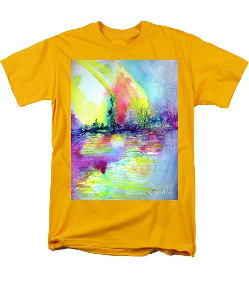 Over The Rainbow Men's T-Shirt  (Regular Fit)