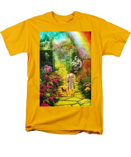 Over The Rainbow Men's T-Shirt  (Regular Fit) by Mo T