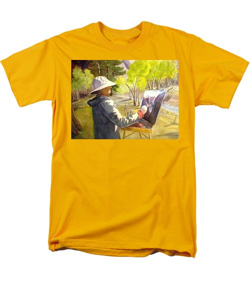 Painters Paradise Men's T-Shirt  (Regular Fit) by Marilyn Jacobson