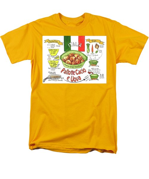 Pallotte Cacio Men's T-Shirt  (Regular Fit)