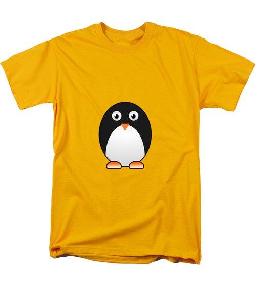Penguin - Birds - Art For Kids Men's T-Shirt  (Regular Fit) by Anastasiya Malakhova