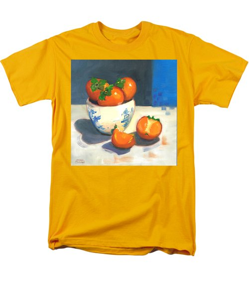 Persimmons Men's T-Shirt  (Regular Fit) by Susan Thomas