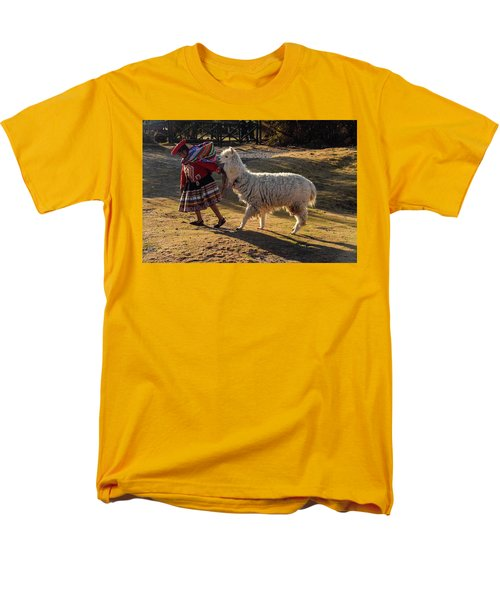 Peru Men's T-Shirt  (Regular Fit) by Will Burlingham
