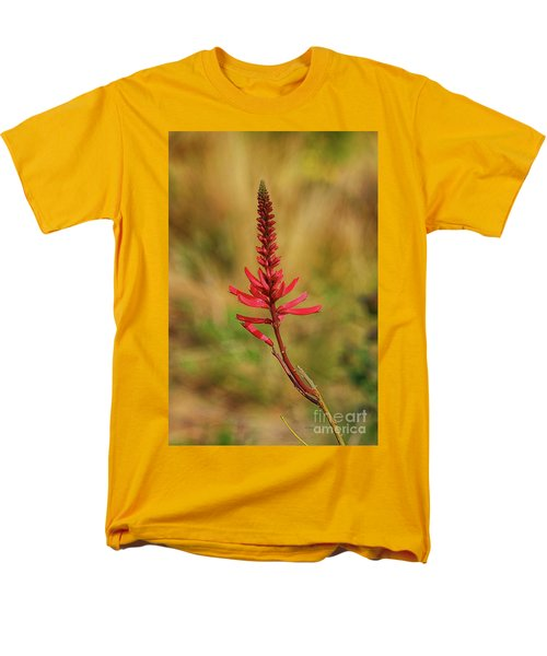 Men's T-Shirt  (Regular Fit) featuring the photograph Pink Glory by Deborah Benoit